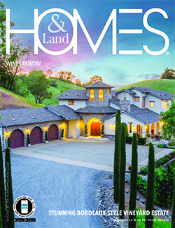 homes & land magazine cover